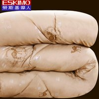 Wholesale ESKIMO Winter wram Camel wool Quilt new Comforter Full Queen King size More warm Luxury quilt on the bed New Year