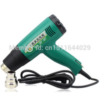 Wholesale 9 Speed Adjustment Thermostat Handheld Hot Air Gun W with High Temperature order lt no track