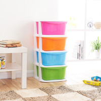 Wholesale Full of clothes storage cabinets plastic drawer lockers baby toy storage box lockers children