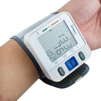 Wholesale Highly Welcomed CE and FDA Approved New Digital LCD Display Automatic Wrist Blood Pressure Pulse Monitor