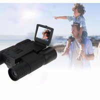 Wholesale New X Zoom Digital Telescope Video Camera HD x720P With inch LCD Screen FS308 Digital Binocular Cameras