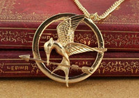 mockingjay - New In Vintage Style Hunger Games Mockingjay Pendant Necklace Colors
