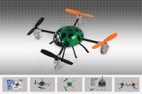 beetle spins - New arrival hcw552 with light belt spinning top instrument g remote control shaft beetle helicopter