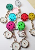 Wholesale Genuine smiling face nurse watch pocket watch luminous needle alloy doctor spocket watch