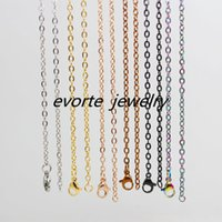 Wholesale High Quality L Stainless Steel quot O shape Chain For Locket