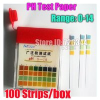 Wholesale Test Strips Alkaline Acid Full Range PH Universal Special Litmus Test Indicator Paper Strips