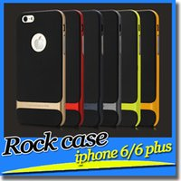 apples rubber bumpers - iPhone Cases Rock case Neo Hybrid Hard Bumper Soft Rubber Environmental Protection Back Cover Case For iPhone Plus i5 NOTE4