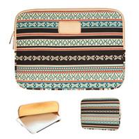 al por mayor bolsas bohemias-S5Q bohemios maletines vintage Bolsas tribales cubierta del caso para 10 '11' 12 '13' 14 '15' AAADZO Laptop