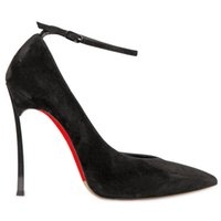 Pumps large size high heel shoes - Online Shopping Fashion Woman Black Wedding Shoes Bind Belt Shallow Mouth Pointed Toe Cheap Shoes High Heel CM Large Size Designer Shoes