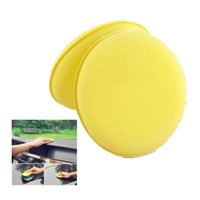 Wholesale Car Waxing Sponge inch Car And Household Cleaning High quality Round Bead Beauty Care Waxing Small Sponge