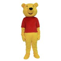 Wholesale Mascot Costume Winnie The Pooh Cartoon Clothing Adult Size Bear Lovely Mascot Costume Hot Sale