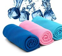 Wholesale New technology product cooling towel icy any towel summer cooling scarf cm UV Protection Multicolor Sunstroke Prevention