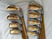 Wholesale freeshipping brand golf club mens s irons set steel shaft right handed high quality