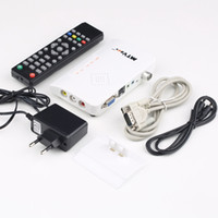 Cheap 1set Digital TV Box LCD CRT VGA AV Stick Tuner Box View Receiver Converter PromotionHot New Arrival