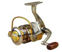 Wholesale Spinning fishing Reels Superior Ratio Aluminum Spool Folding Arm spinning Fishing reels EF1000 Series