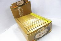 Wholesale new Brand of hand rolled cigarette paper import moon mmX36MM large box sales including small boxes