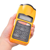 Wholesale New CP LCD Ultrasonic Laser Meter Pointer Distance Measurer Range FT M