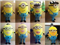 Wholesale 2015 hot sale despicable me minion mascot costume for adults