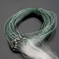 Wholesale 25 m Fishing Net Layers Monofilament Gill Fishing Network with Float Fish Trap Rede De Pesca