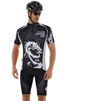 Wholesale 2015 Dragon Knight Man Cycling Jersey Bike Short Sleeve Sportswear Cycling Clothing Shorts CC1019