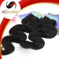 Wholesale XCSUNNY Queen Hair Brazilian Bodi Wave A Cheap Human Hair Human Hair Weav Virgin Brazilian Hair Extens Weav Body Wave