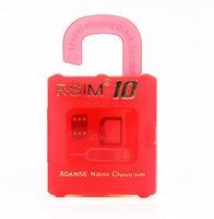 Wholesale New R SIM R SIM plus RSIM Rsim10 Unlock Card for iphone s Plus S S ios9 X G G CDMA Sprint AU Softbank direct use no Rpatch