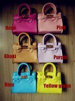 Designer Shoulder bags girls handbags - 2015 New Ice Cream Colors Hot Girl s bags Designer Small Tote for Girls Kids Mini Leather Handbag Children s Fashion Bags Woman Small bag