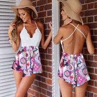 Wholesale S Hot Women Sexy Summer Celeb Playsuit Party Evening Ladies Dress Jumpsuit Shorts