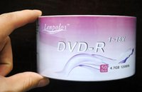 Wholesale Blank Discs Recordable Printable DVD R for DVD Movies TV series DVDR Disc Disk GB X DHL good mall piece