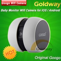 Wholesale Googo Wifi Camera No need Router Wireless Portable Baby Monitor P2P CHATTING SECURITY MONITOR WEBCAMERA for IOS Android System