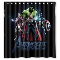 avengers curtains - Avengers U4926730 Home Decoration Fabric Modern Classical Shower Curtain bathroom Waterproof quot x72 quot