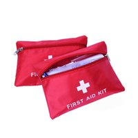 best first cars - Free shinpping Best First Aid Kit For Outdoor Travel Sports Emergency Survival Indoor Or Car Treatment Pack Bag X003