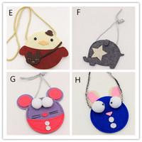 Wholesale Fashion Hot Toddler Girls Babies kids Cartoon Korean Style Creative fox shoulder Messenger bag cute coin purse
