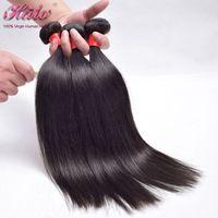 Cheap Sexy Formula Hair Malaysian Straight Hair Grade 6A Unprocessed Virgin Hair 3 Bundles Lot Malaysian Hair Straight Human Hair Extensiones