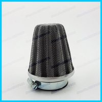 Wholesale 42mm Air Filter Stainless Steel r For Moped Scooter ATV Quad Pit Dirt Monkey Bikes motorcycles order lt no track