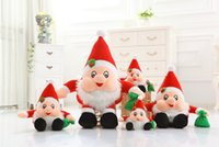 Wholesale Christmas and New Year Gifts Santa Claus Doll Big Size Plush Toy