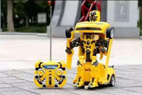 best transformer toys - 2015 Transformer Toys Versions Car Robots Change Freely Children Best Surprice Gift Wireless controller Robot with retail box