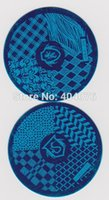 Wholesale hehe Series Nail Art Stencils Stamping Template Image Plate Manicure Tool P014