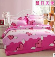 Wholesale Home textile Reactive Print bedding sets luxury include Duvet Cover bed linent Pillowcase King Queen size