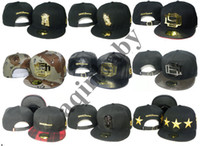 Wholesale Hot Sale Black D9 Reserve praying hands adjustable Hat gold metal D Jesus Piece snapback cap Baseball Snapback caps Sports hats