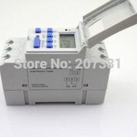 Wholesale DIN RAIL DIGITAL PROGRAMMABLE VAC A TIMER SWITCH Relay time THC15A