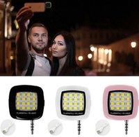 Wholesale 3 mm Rechargeable Mini Flash LED Selfie Flash Light for IOS Android Cellphone Camera Smart Flash Light