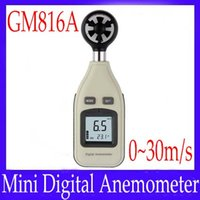 Wholesale Mini digital Anemometer GM816A Air velocity m s MOQ