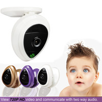 baby monitor hd app - 2015 New p HD Cloud IP Camera mini baby monitor camera wifi Built in Microphone two way audio free smartphone app