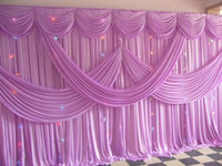 Wholesale Fashion Wedding Stage Background Wedding Backdrop Curtain m m ft ft Props Curtain Decorations