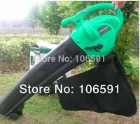 Wholesale New electric leaf Blower suction the leaf machine leaves grinder machine hand push working wheel blower vacuum