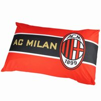 Wholesale Many football team AC Milan long pillow pillow bedding