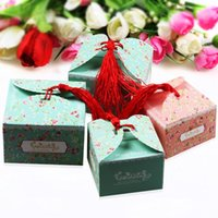 small paper boxes - Chinese Knot Small new style chocolate box gift box candy box