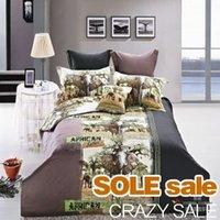 Cheap Elephant 3D Bedding Sets, 3D Duvet Cover Set, Cotton 3D Bedclothes,Queen King 3D Bed Linens Home Textiles