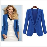 women business suits - 4XL Plus Size Small Blazers Thin Cardigan Jacket Women Clothes Lapel Long Sleeve Suits For Women Coat New Spring Business Wear Suits